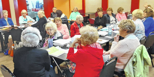 The Wilmington Garden Club met in-person at El Dorado Restaurant.