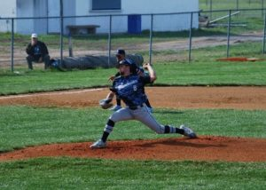 Czaika pitches, hits BHS to win over Goshen 7-6