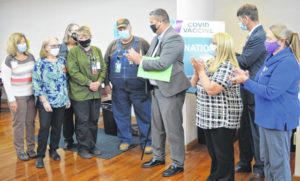 Volunteers give 1,500 hours to Clinton County Health Department vaccine clinics