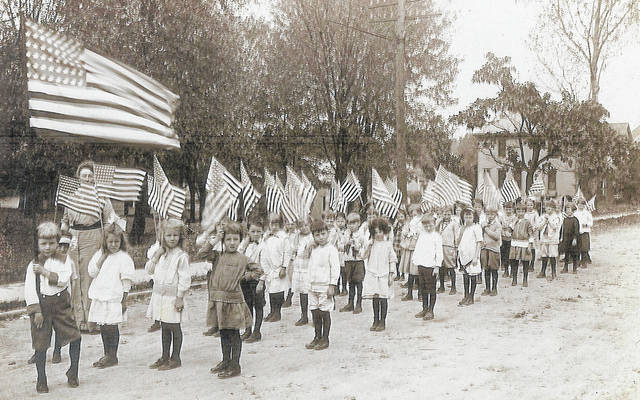 These patriotic kids celebrate the City of Wilmington's centennial in 1910. Can you tell us more? Share it at info@wnewsj.com. The photo is courtesy of the Clinton County Historical Society. Like this image? Reproduction copies of this photo are available by calling the History Center. For more info, visit www.clintoncountyhistory.org; follow them on Facebook @ClintonCountyHistory; or call 937-382-4684.