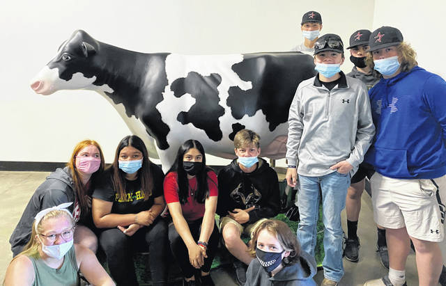 East Clinton FFA's activities ranged from educating young students to touring a dairy farm.