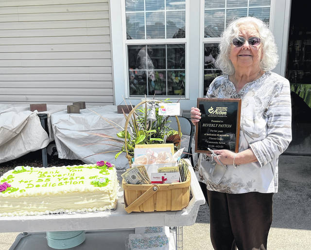 Beverly Ferguson-Peyton began her career working for Clinton County Community Action on August 1, 1966 and retired from her position on May 14, 2021 after almost 55 years of service.