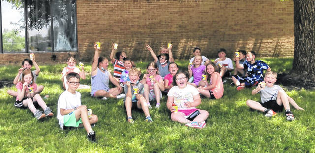 It was a fun Field Day on Monday for Denver Elementary School students in Wilmington, followed with some time in the shade, including for Mrs. Nemcic's third-grade class.