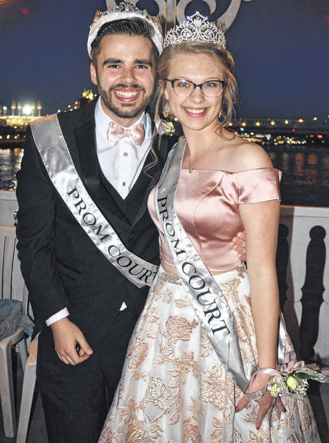 The 2021 East Clinton High School prom king and queen are Aaron Hughes and Jaiden Alloy.