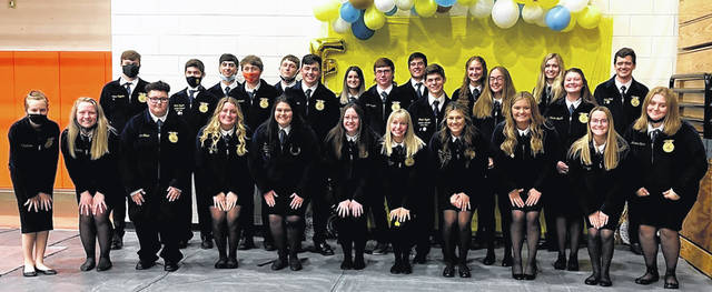 The Wilmington FFA held its annual parent and member banquet on Saturday May 15. Members were awarded for their participation in FFA activities and events for the 2020-21 school year. Notable awards included Greenhand and Chapter Degrees, Fruit Sale and Strawberry Sale awards, state awards, the Cane FFA Spirit Award, Honorary Chapter Degrees, Star Grade Awards, and the 2021-22 Wilmington FFA officer installation.