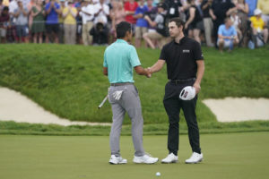 Memorial as much about Rahm not playing as Cantlay winning