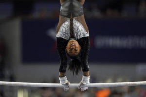 Seven for Simone; Biles claims another US Gymnastics title