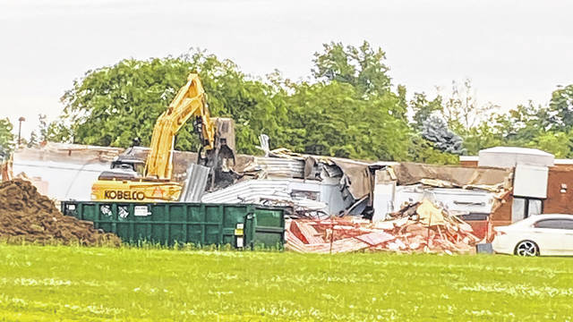 """This week at Clinton-Massie, a wing of the annex was razed. It had not been used since the 2009-10 school year and was in need of repair and updating. It is more cost-effective to remove it, school officials said. The awarded bid for the demolition project was $335,000. The school district is using some of the federal funds it received for """"school facility repairs and improvements to enable operation of schools to reduce risk of virus transmission and exposure to environmental health hazards""""."""