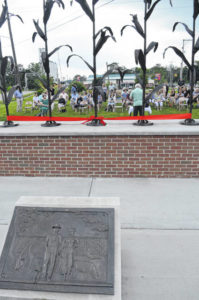 Honoring our agricultural roots: City accepts sculpture donated by Henry family