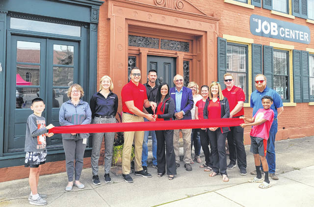The Job Center Staffing makes its debut at 100 W. Main St. in Wilmington with a ribbon-cutting.
