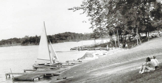 This is an undated photo of boat docks at Cowan Lake. Can you tell us more? Share it at info@wnewsj.com. The photo is courtesy of the Clinton County Historical Society. Like this image? Reproduction copies of this photo are available by calling the History Center. For more info, visit www.clintoncountyhistory.org; follow them on Facebook @ClintonCountyHistory; or call 937-382-4684.