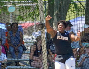 Wilmington's Brooks 8th in discus at D1 state meet