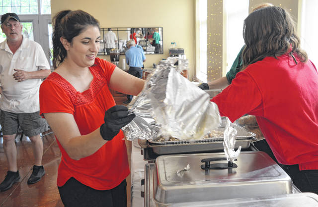 The annual dinner event for Clinton County township officials was held Thursday evening at McCoy Place in Union Township near Wilmington.