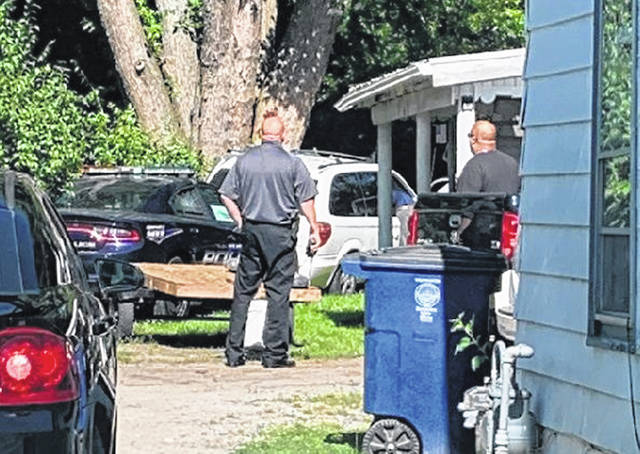 Wilmington Police arrested two subjects after engaging in a vehicle pursuit that ended behind a residence on Grant Street near Hawley Avenue.