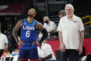 After fall, Lillard, Adebayo try to help US get up again