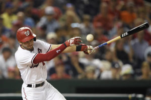 LEADING OFF: Votto on a roll; Turner, Yelich out with COVID