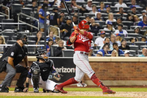 LEADING OFF: Reds' Votto can match HR mark Saturday vs. Mets