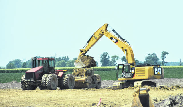 Land is being cleared for construction of Nutrien Ag Solutions' retail facility at Gleason and Prairie Roads.