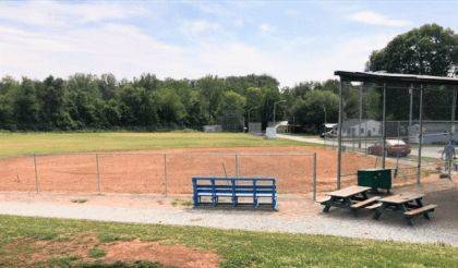 The Clarksville ball diamond will host a benefit softball tournament this weekend, along with an old-timers game.