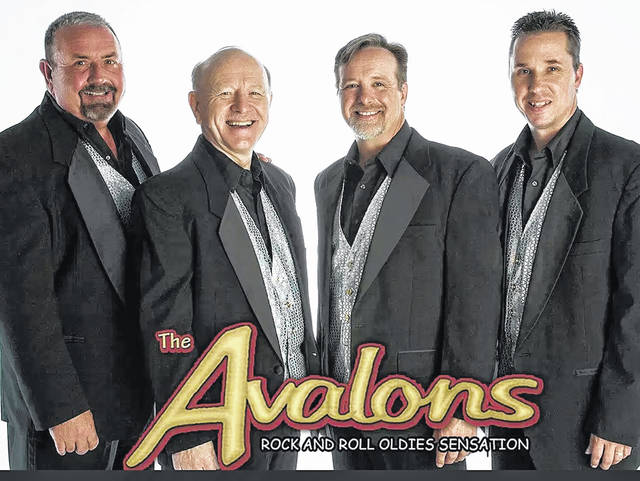 The Avalons will rock the oldies Friday evening in Wilmington.