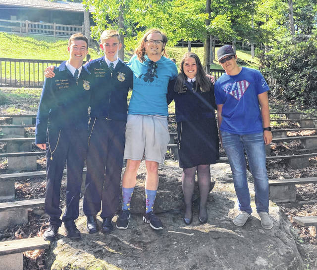 Some East Clinton Great Oaks FFA members attended the five-day camp.