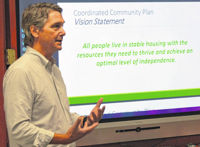 Homelessness consultant Tom Albanese is leading an effort to create a local Coordinated Community Plan to Prevent & End Homelessness.