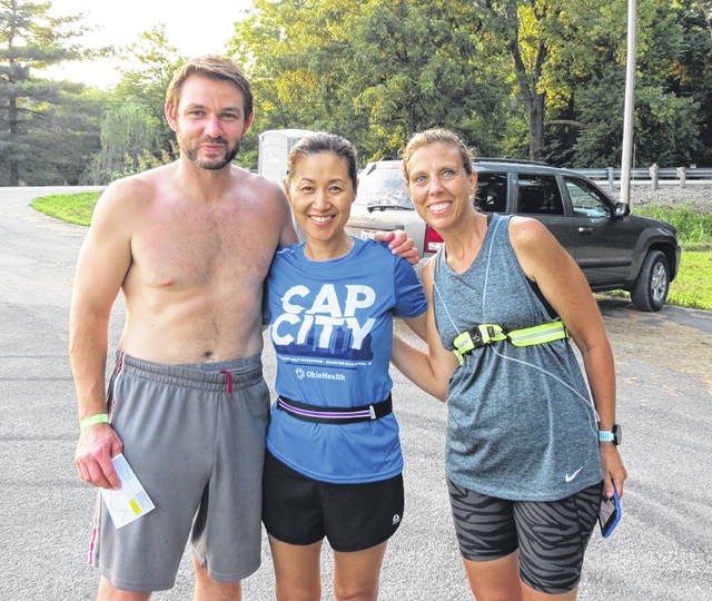 The Dr. Nathan Hale Woods & Preserve on Clarksville Road was part of a weekend American Cancer Society relay run route from Cincinnati to Columbus.