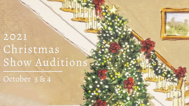 It's that time of year to be thinking about auditioning for the annual Murphy Christmas Show.