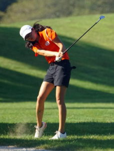 Middleton matches own record, shoots 32 at Elks