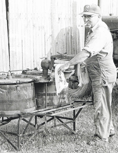 """A photo taken in 1972 called """"Laundry Day"""". Can you tell us more? Share it at info@wnewsj.com. The photo is courtesy of the Clinton County Historical Society. Like this image? Reproduction copies of this photo are available by calling the History Center. For more info, visit www.clintoncountyhistory.org; follow them on Facebook @ClintonCountyHistory; or call 937-382-4684."""