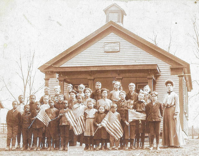 This is a Liberty Township School District photo, but no other information is available. Can you tell us more? Share it at info@wnewsj.com. The photo is courtesy of the Clinton County Historical Society. Like this image? Reproduction copies of this photo are available by calling the History Center. For more info, visit www.clintoncountyhistory.org; follow them on Facebook @ClintonCountyHistory; or call 937-382-4684.