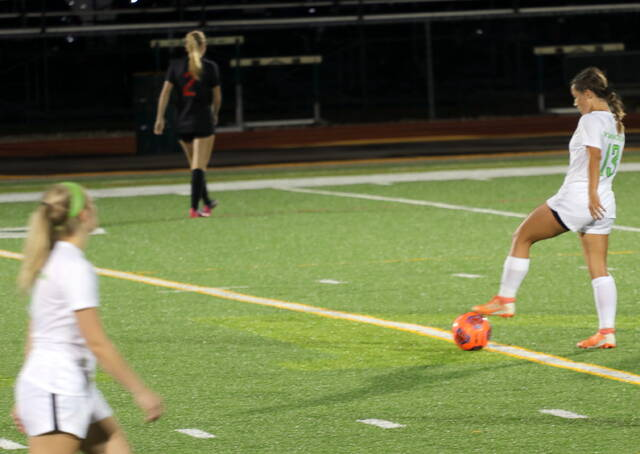 The Wilmington College women's soccer team opened with a 3-1 loss Wednesday at Townsend Field. (Lizz Hadley Photo)