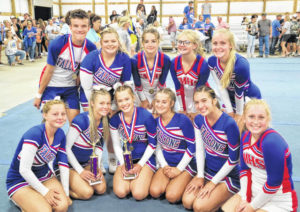 CMHS cheer excels at Highland County Fair competitions