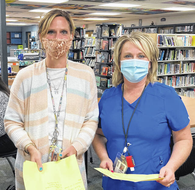 Wilmington Middle School teachers Hillary Battrell and Sondra Gilbert are involved in a three-year focused plan at the school district.