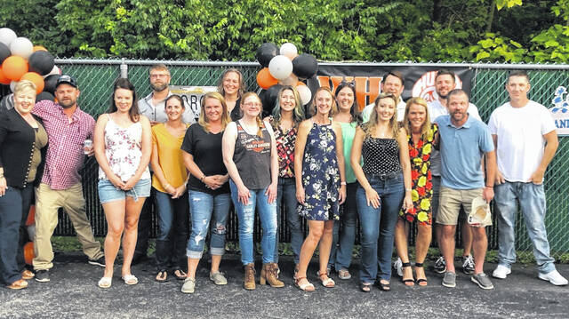 The Wilmington High School Class of 2001 held their 20-year reunion over the weekend.