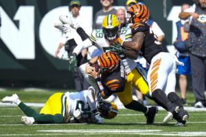 Burrow is OK, Bengals move on after OT loss to Packers