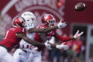 Indiana tries to put season on track against No. 5 Ohio St