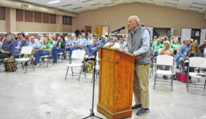 Members of public speak for, against solar project proposed for southern Clinton County