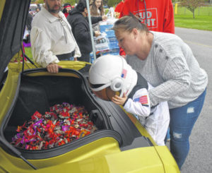 City's Parks & Rec hosts annual Drive-Thru Trunk or Treat