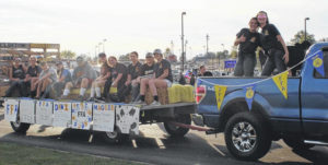 CM FFA in parade, sets upcoming fruit sale