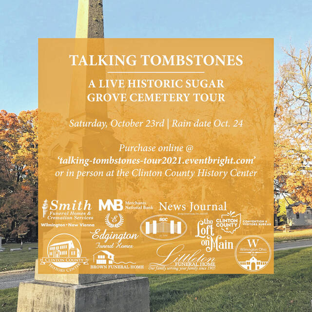 Many sponsors have come forward to support this first-of-its-kind event at Sugar Grove Cemetery.