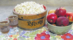 Autumn & apples spice up the home