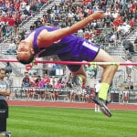 Smith places fourth in the high jump; Oakes finishes 11th