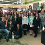 Accounting students tour Sauder