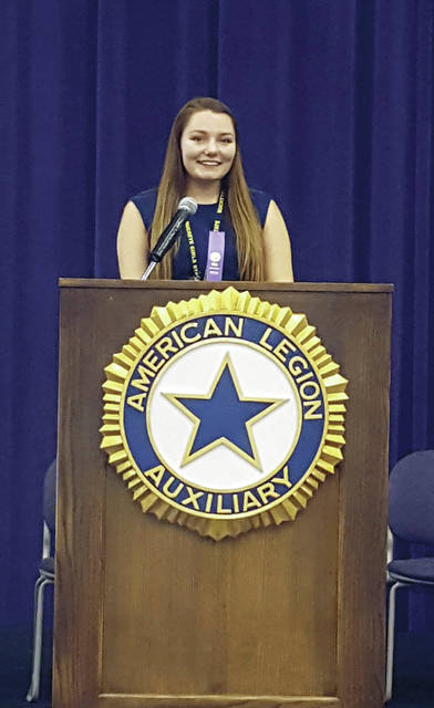 Mikayla Rochelle of Swanton was elected President of the Senate at Buckeye Girls State.