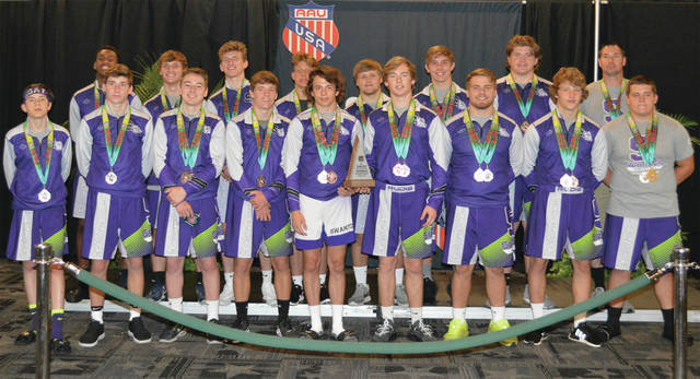 The Swanton Wrestling Club traveled to Florida over the weekend to compete in the AAU Scholastic Duals. Swanton advanced all the way to the national final in Community Division II, finishing second to York Town (Ind.). In the bracket tournament, Swanton topped Team Wakulla (Fla.), Social Circle, Ga., and Illinois Top Dawgs to advance to the final.
