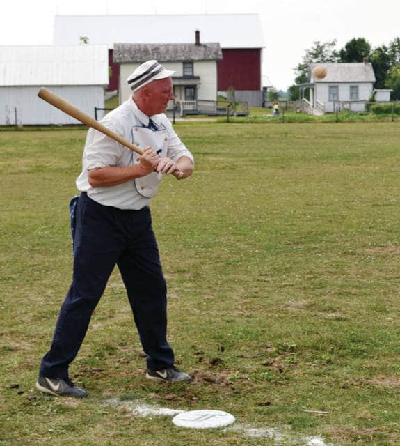 A Vintage Base Ball Tournament will be held at Sauder Village in Archbold on Saturday, July 22.