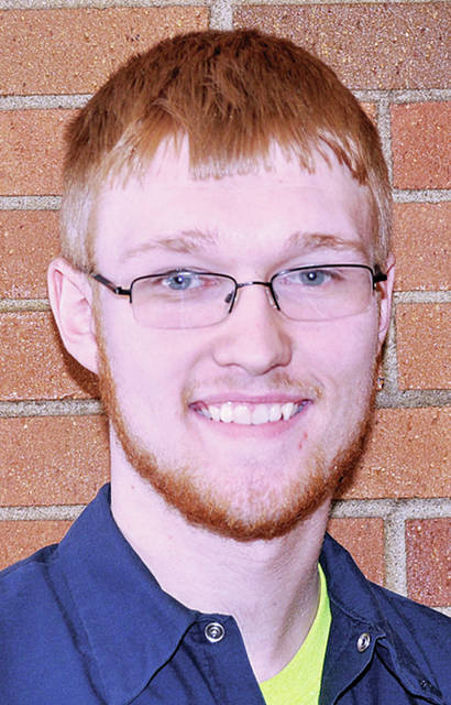 Four County Career Center in Archbold is pleased to announce Garrett Crowell from Evergreen High School as Student of the Month. The son of Robert and Debbie Crowell, Garrett is a senior in the Diesel Mechanics program. He was nominated by Job Placement Coordinator Ellie Cichocki. He is a member of FFA and is on the Career Center Honor Roll. Garrett receives class credit for working at Tri-County Repair in Fayette as part of the Bridge Program. After Garrett graduates, he plans to continue working in his career field. Students who achieve this recognition throughout the 2017-18 school year are honored with a certificate of recognition.