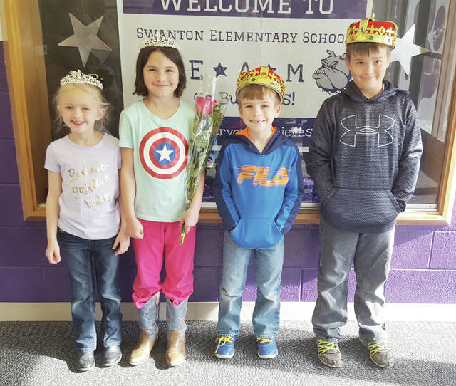 The annual Swanton Parents Club Carnival was held on Friday at Swanton High School. The event included games for children, food, a magic show, raffles and prizes. Above, are the princecsses and princes, from left, Maci Richardson, Hailey Frosch, Levi Smallman, and Camden Kozakiewicz.