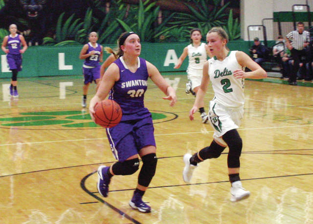 Swanton's Sidney Taylor will compete in the District 7 All-Star Basketball game this Sunday at Notre Dame Academy High School.